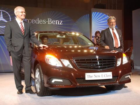 Mercedes E-Class Launch